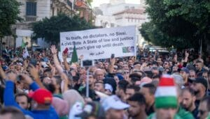 Demonstration der Hirak-Bewegung in Algerien