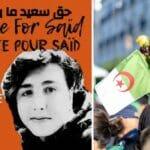 Der von der Polizei in Algerien misshandelte Saïd Chetouane