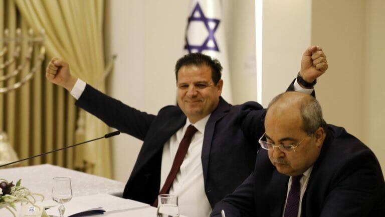 Vorsitzender der Vereinten Arabischen Liste, Ayman Odeh
