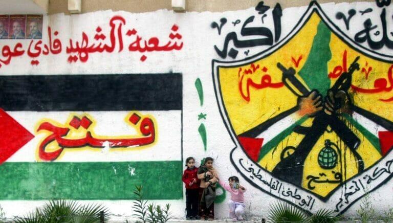Auch im Logo der Fatah von Mahmud abbas existiert kein Israel