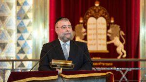 Der Präsident der Konferenz der Europäischen Rabbiner (CER) und Oberrabbiner von Moskau, Pinchas Goldschmidt