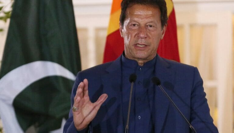 Pakistans Premierminister Imran Khan