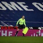Der Iran zensierte Aufnahmen der britischen Schiedsrichterassistentin Sian Massey-Ellis