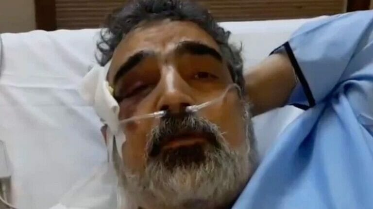 Behrouz Kamalvandi gibt Interview vom Spitalbett aus