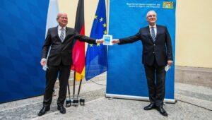 Präsentation des bayerischen Verfassungsschutzberichts 2020