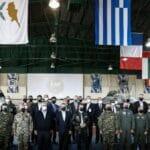 Gemeinsame Militärübung von Frankreich, USA, Israel, Vereinigte Arabische Emirate, Kanada, Spanien, Zypern und Griechenland