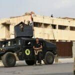 Sicherheitskräfte in Kirkuk im Nordirak