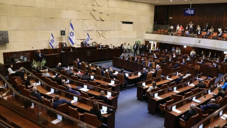 Knesset: Netanjahu verlor eine wichtige Abstimmung