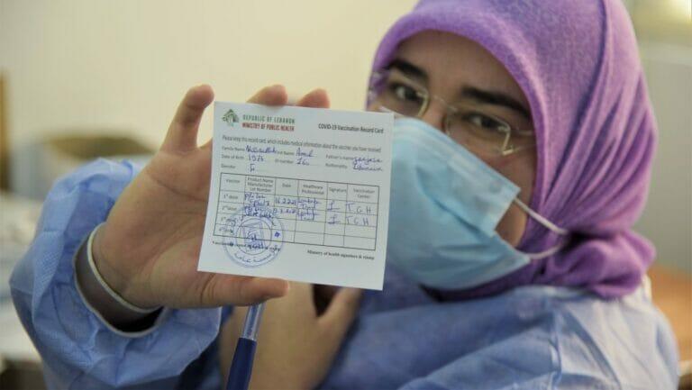 Im Libanon sind von Israel für Syrien bestimmte Corona-Impfdosen aufgetaucht