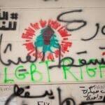 Grafitto für LGBT-Rechte in Beirut