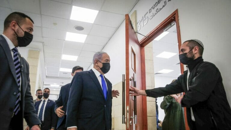 Am Montag begann in Israel auch der Untreue-Prozee gegen Benjamin Netanjahu