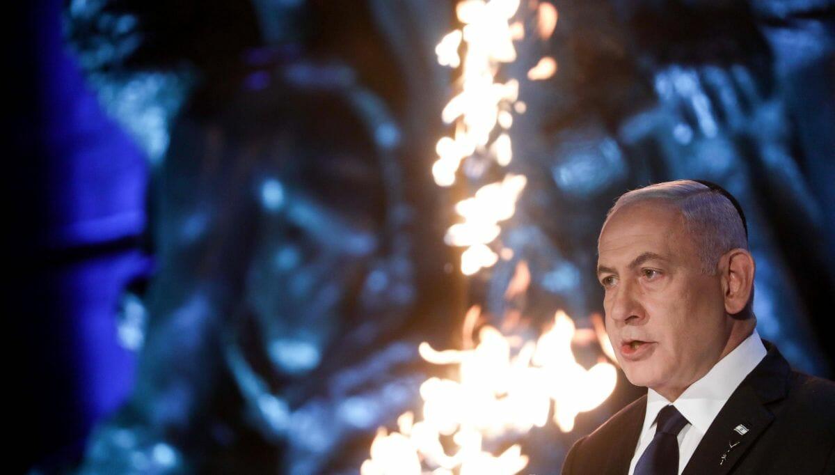 Netanyahus Ansprache in Yad Vashem anlässlich des Holocaust-Gedenktages