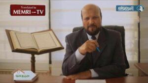 Ahmad Nofal erklärte im jordanischen Fernsehen, Juden würden die Welt beherrschen