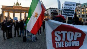 Berlin 2019: Solidaritätskundgebung mit den regimekritischen Protesten im Iran