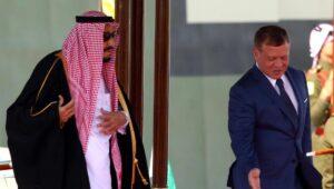 Saudi-Arabiens König Salman und Jordaniens Abdullah II.