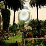 Die sudanesische Hauptstadt Khartoum