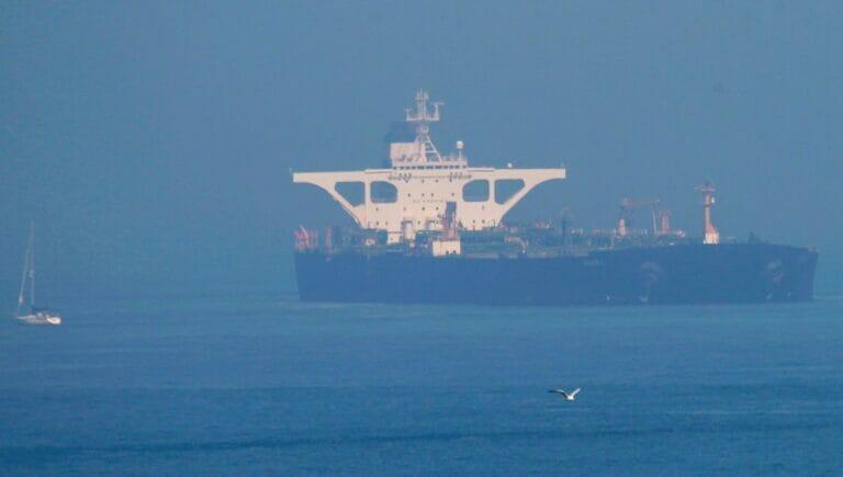 Iranischer Öltanker auf dem Weg nach Syrien