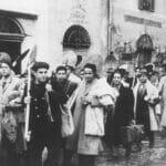 Zur Zwangsarbeit verpflichtete Juden in Tunesien