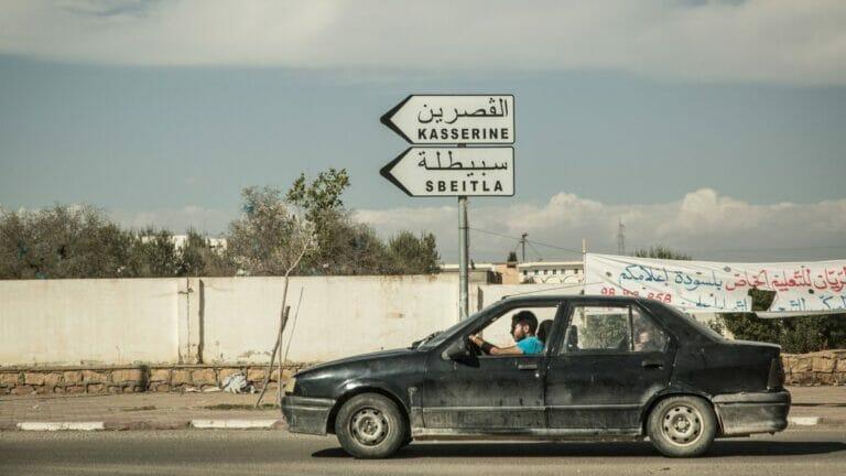 Die bergige Region rund um Kasserine gilt als Rückzugsort für islamistische Terrorgruppen