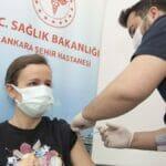 Laut Gesunheitsministerium haben knapp 18 Mio. Türken zumindest eine Corona-Impfdosis erhalten