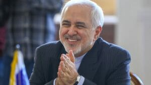 the smiling face of terror: Irans Außenminister Zarif