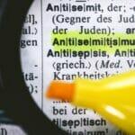 Antisemtismus ist ein Begriff, der Judenfeindschaft meint
