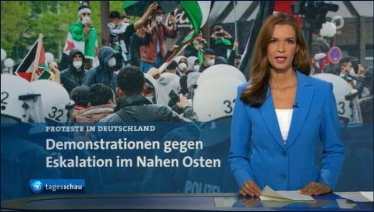 """Mit """"Scheiß-Juden""""-Rufen für den Frieden im Nahen Osten?"""