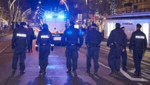 Einsatz der österreichischen Polizei