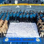 """Die """"HMS Calgary"""" beschlagnahmte 1,3 Tonnen Heroin vor dem Oman"""