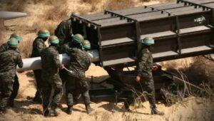 Die Hamas präsentiert in einem Video ihren neuen Raketentypus A-120