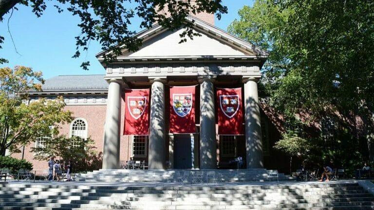 Campus der Universität Harvard