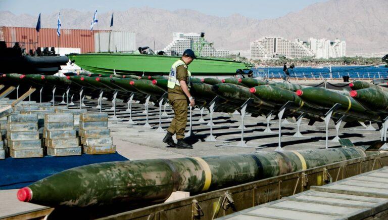 Von Israel abgefangene iranische Raketenlieferung an die Hamas