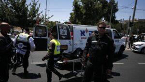 Kurz nach Ende des Hamas-Raketenbeschusses kam es in Jerusalem wieder zu einem Terrorangriff mit einem Messer