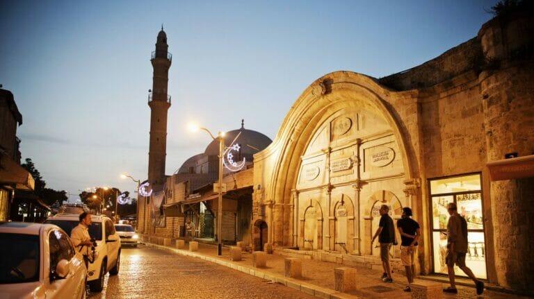 Straße im Tel Aviver Stadtteil Jaffa