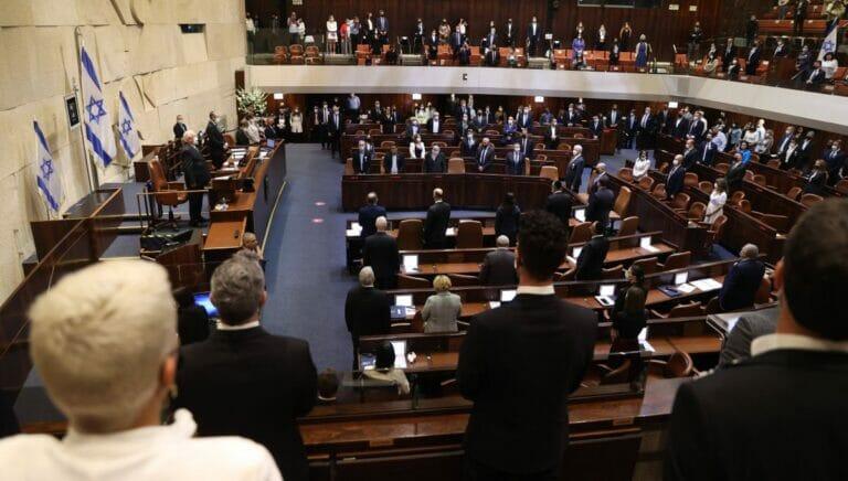 Auch in der neueingeschworenen 24. Knesset sind Frauen stark unterrepräsentiert