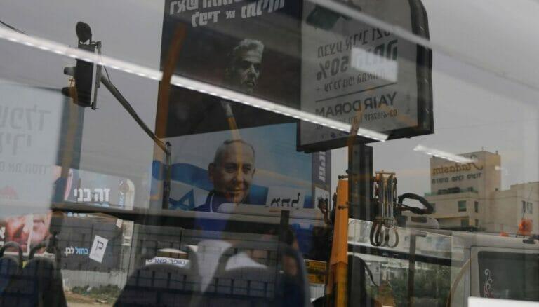 Ringen um Mehrheit bei Regierungsbildung: Yair Lapid und Benjamin Netanjahu