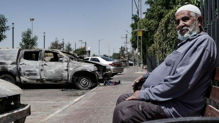 Die israelische Stadt Lod war eines der Zentren der gewaltsamen Ausschreitungen