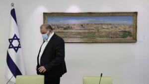 Der Vosritzende der arabisch-israelischen Partei Ra'am (Vereinigte Arabische Liste), Mansour Abbas