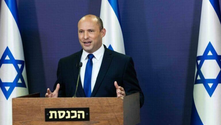Naftalit Bennett verkündet, dass er und Yair LApid sich auf eine Koalitionsbildung geeinigt haben