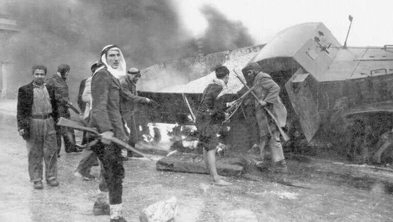 Am 15. Mai 1948 überfielen arabische Armeen und Freischärler das tags zuvor gegründete Israel