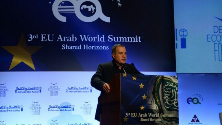 Der palästinensische Politiker Nabil Abu Rudeineh
