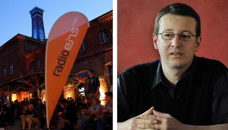 Interview von Florian Markl bei Radio Eins rbb