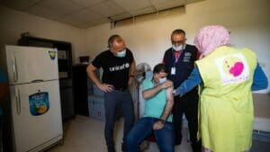 Lediglich 645 Dosen wurden an das vom Regime gehaltene Krankenhaus in Qamishli geliefert