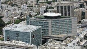 Das Sourasky Medical Center des Ichilov Hospital in Tel Aviv