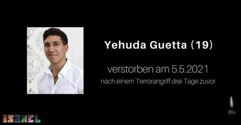 Der im Zuge eines Terrorangriffs getötetet Yehuda Guetta