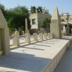 Massengrab für jüdische Opfer der Unruhen von Jaffa auf dem Trumpeldor-Friedhof Tel-Aviv
