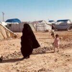 Im Flüchtlingslager al-Hol in Syrien hat der Islamische Staat noch immer großen Einfluss