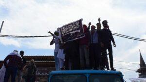 Akitivisten der Al-Qaida in Kaschmir