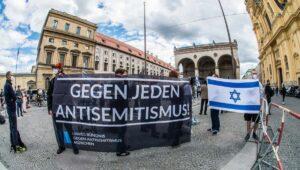Demonstration gegen Antisemitismus in München