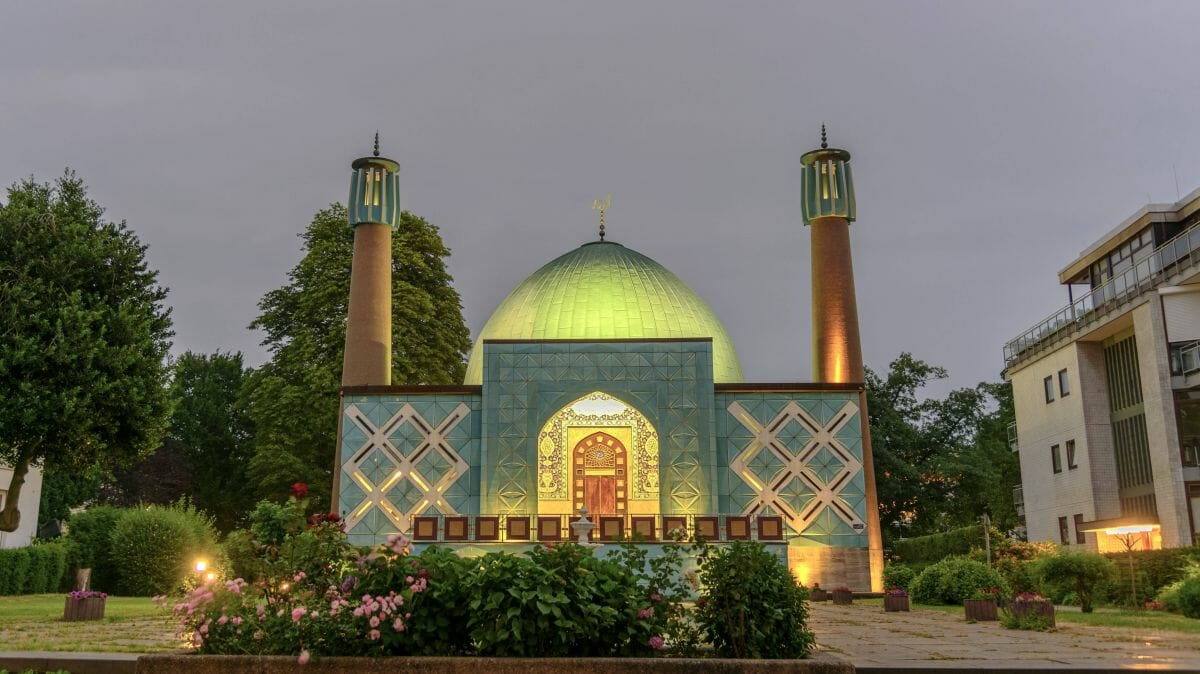 Die Imam-Ali-Moschee des Islamischen Zentrums Hamburg